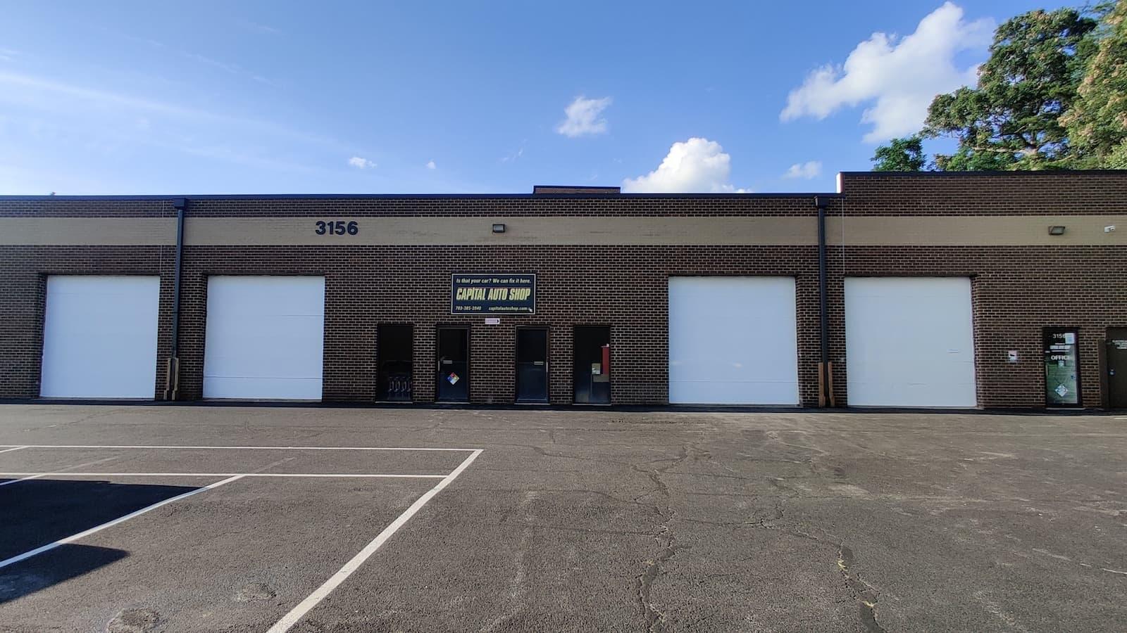Capital Auto Shop Building